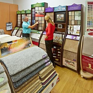 carpet and flooring showroom
