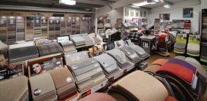 Carpet showroom in barnsley