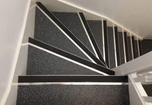 Polysafe Corona Blackbird Commercial Staircase