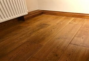 Solid oak floor by Tuscan in Golden Oak