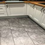 LVT kitchen floor by Polyflor