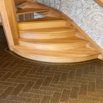 Amtico Signature range in Parquet fragment Comet with feature line fragment Nova
