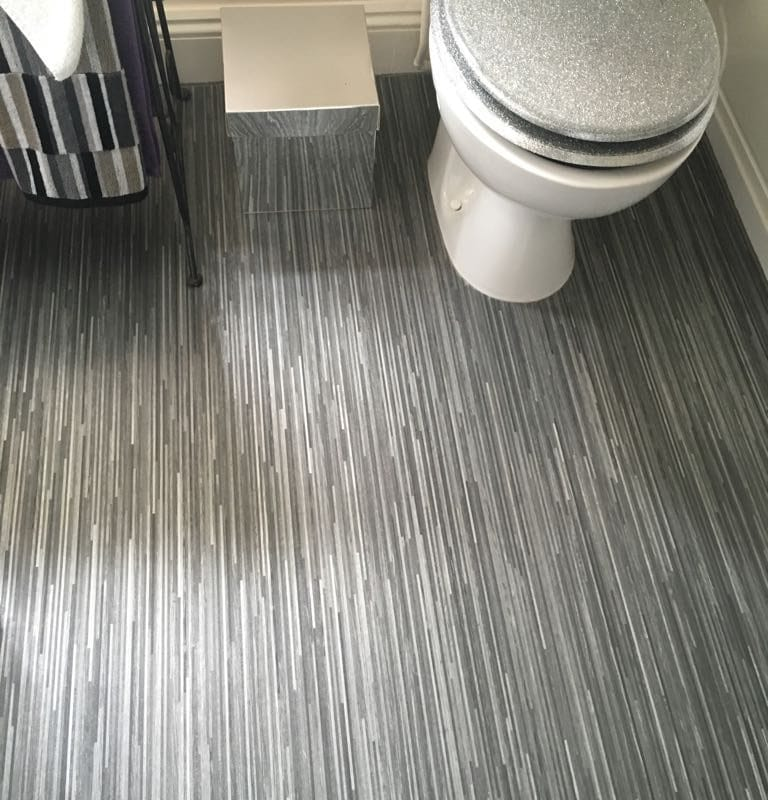 Cushioned Vinyl Floor by Avenue Range