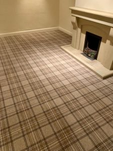 Axminster Carpet Tartan finish in Ben Lawers