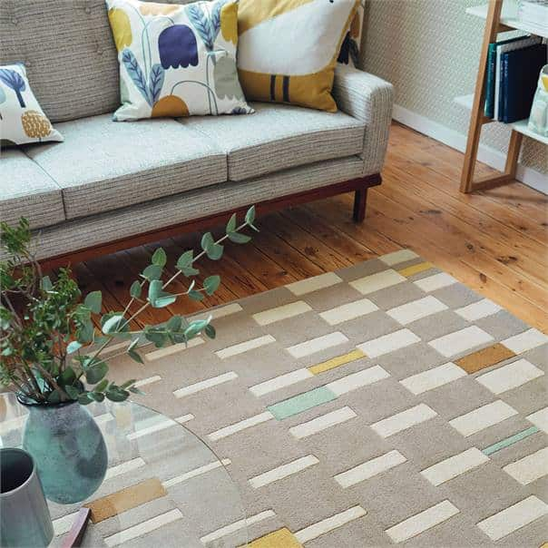 Scion Rugs Blok in Dandelion