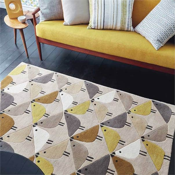 Lintu Love Birds Rug by Scion
