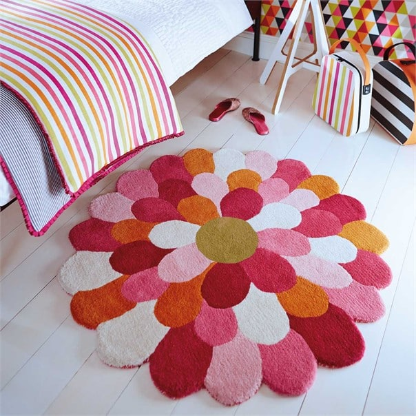 Funky Flower Rug by Harlequin