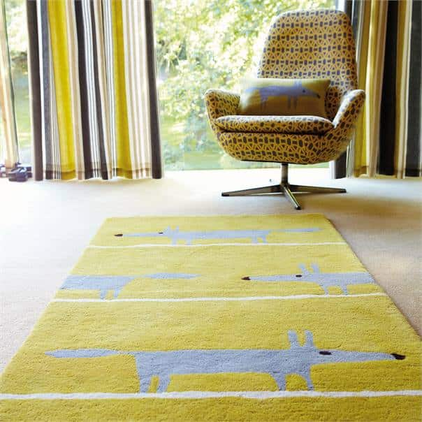 Mr Fox Scion Rugs in Yorkshire