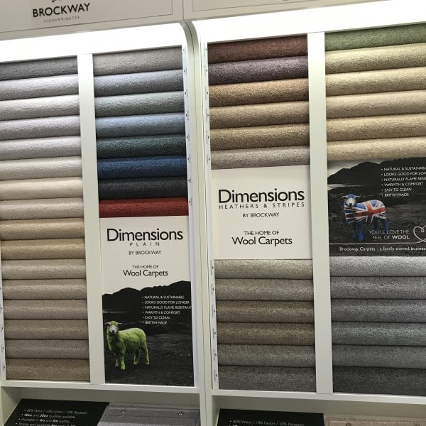 dimensions by brockway wool carpets