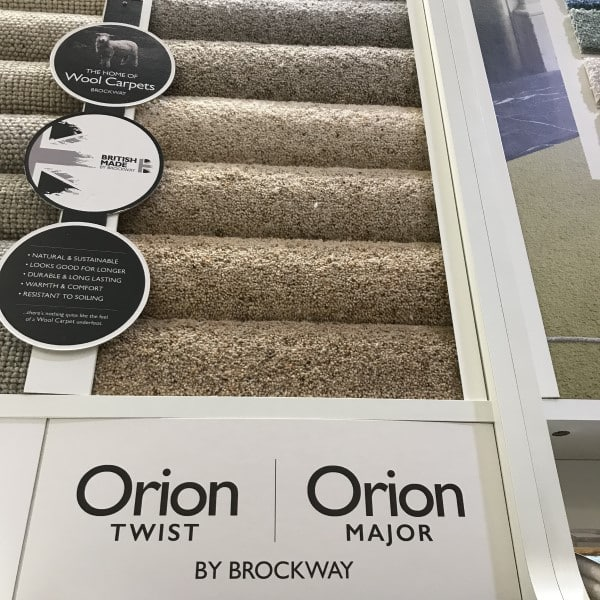 orion twist wool carpets by brockway
