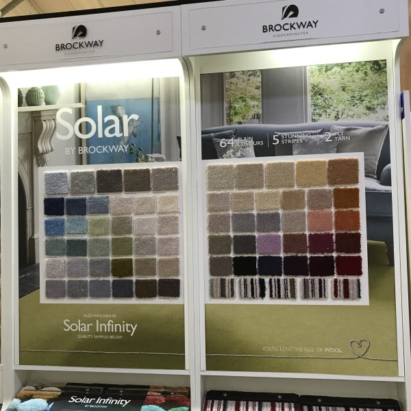 solar infinity wool carpet range by brockway