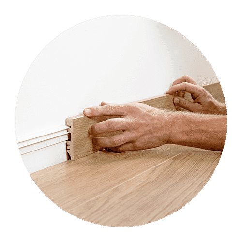 quick-step skirtings match floor