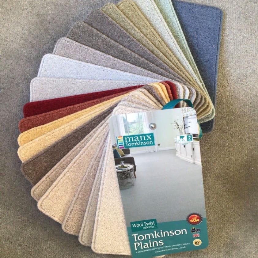 Mr Tomkinson Carpets Luxurious Wool Twist in Tomkinson Plains