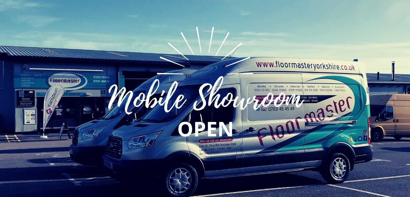 Floormaster Mobile Showroom Is Open