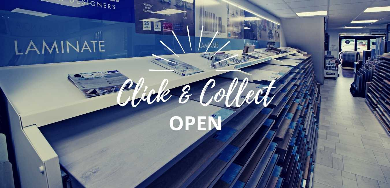 click and collect shops open
