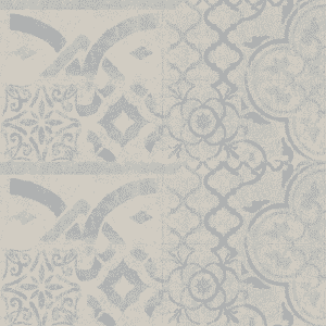 Faus Blue Retro Tile